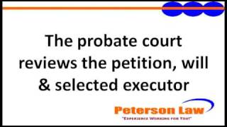 Probate Series (4 of 5) What Happens When We Go To Probate Court?