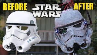 The Black Series Stormtrooper Helmet Makeover- Chris' Custom Collectables!
