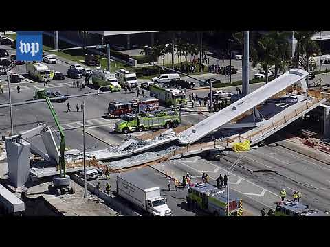 Here's how the collapsed South Florida bridge was built