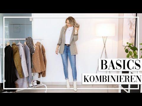 Outfits zusammenstellen mit BASICS! So kombiniere ich meine Kleidung im Alltag - TheBeauty2go