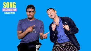 RAYVON OWEN sings Demi Lovato, Charlie Puth, and Kelly Clarkson | SONG ASSOCIATION