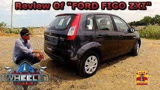 "234 Wheels Drive On : Review Of ""Ford Figo Zxi"" (10/08/2014) - Thanthi TV"