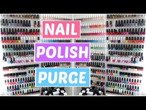 Nail Polish Declutter, Organization, and Collection!!! | JennyClaireFox