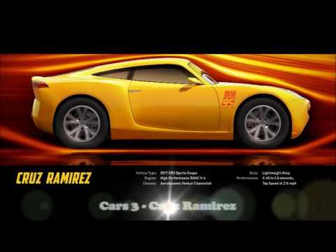 Cars 3 - Cruz Ramirez