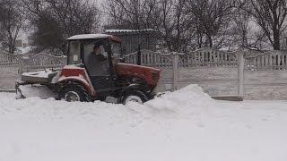Як Житомир розчищають від снігу - Житомир.info