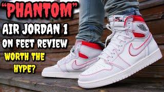 """""""PHANTOM"""" AIR JORDAN 1 ON FEET REVIEW! SHOULD YOU BUY THESE? WORTH THE HYPE?"""