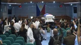 Necrological Service for the late former Senate President Aquilino Q. Pimentel Jr. (Oct. 23, 2019)