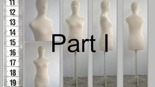 DIY Как сделать манекен. Часть I. How to make tailor