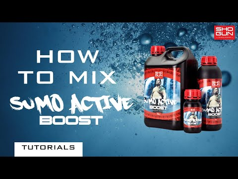 How to mix SHOGUN Sumo Active Boost - Flowering Booster