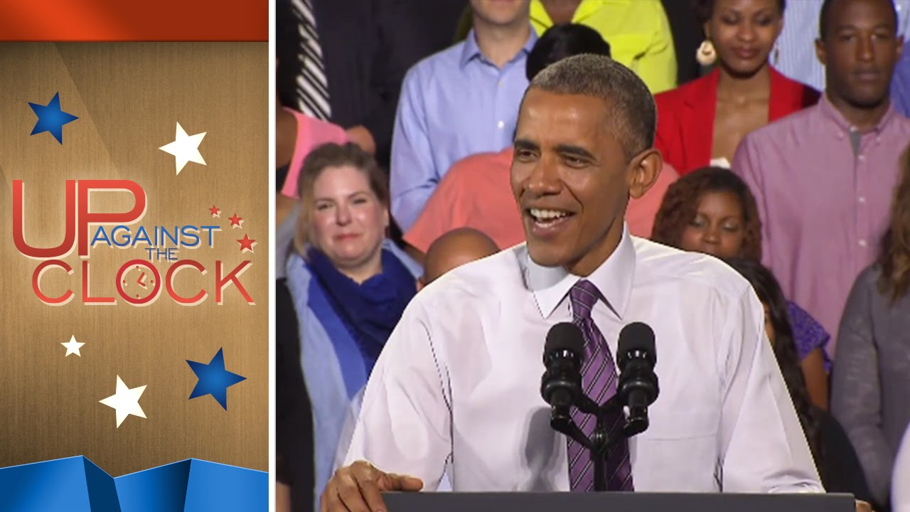 Obama Hatin' On The Haters | Up Against The Clock | msnbc thumbnail