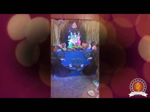 Hemant Awhad Home Ganpati Decoration Video