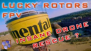 FPV German Drone Freestyle - EPIC RESCUE CONTINENTAL TOWER - (Paderborn Germany 2018) Lucky Rotors