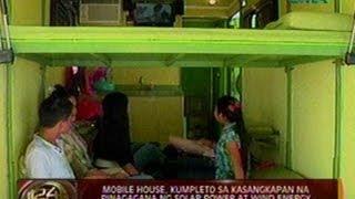 24 Oras: Mobile house, kumpleto sa kasangkapan na pinagagana ng solar power at wind energy
