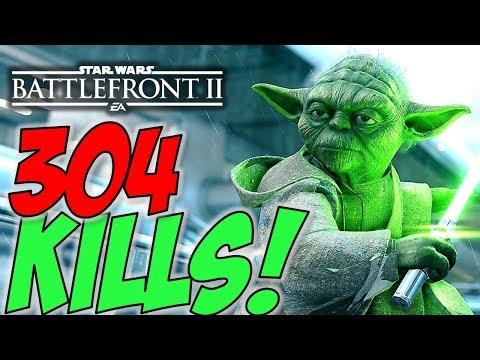 304 KILLS!! - KILL OF THE YEAR 2018 - Star Wars Battlefront 2