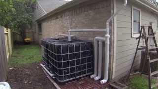 IBC Rainwater Harvesting System