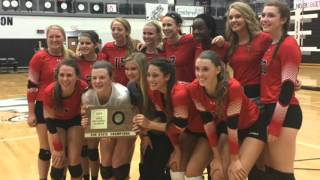 Maize beat Bishop Carroll to advance to the Class 5A volleyball tournament