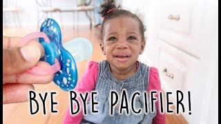Bye Bye Pacifier!  | How to Get Rid of the Pacifier | Tips for Toddlers