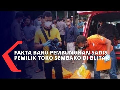 Polisi Temukan Fakta Baru Terkait Pembunuhan Sadis Pemilik Toko Sembako di Blitar