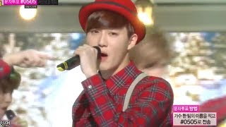 [HOT] EXO - Christmas day, 엑소 - 크리스마스데이, Show Music core 20131221