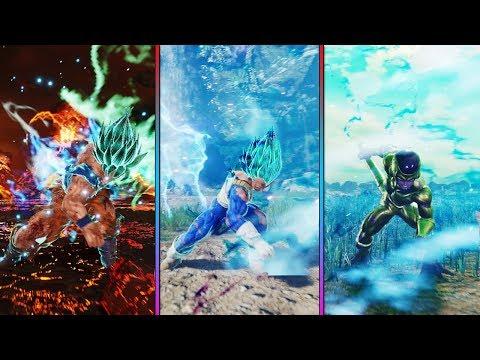 Team Awakening Combo FINISH! Goku, Vegeta & Frieza! - JUMP FORCE Open Beta