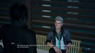 Final Fantasy XV - Reliable Royalty: Deliver Stone To Dino Chat, Sapphire Bracelot Acquired PS4Pro