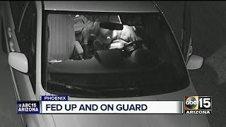 North Phoenix neighborhood fed up with car burglaries