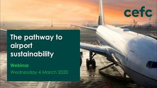 Webinar: Pathway to airport sustainability