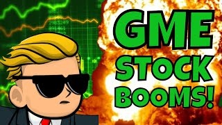 Gamestop Stock BOOMS! Here's Why