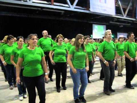 Line Dance Weltrekord Chemnitz 2013 - Canadian Stomp