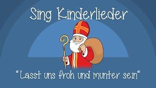 Lasst uns froh und munter sein - Weihnachtslieder zum Mitsingen | Sing Kinderlieder