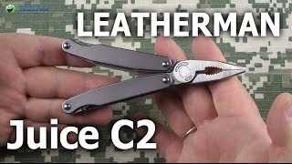 Leatherman Juice C2 Granite Gray (831935) - відео 2