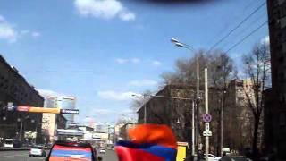 Армяне едут на разборку.