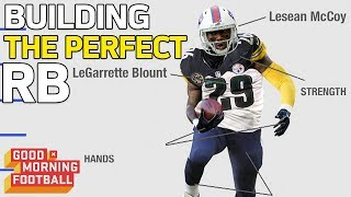 Building the Perfect Running Back with Reggie Bush | Good Morning Football | NFL Rush