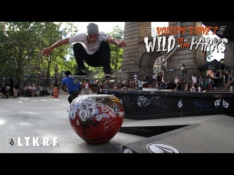 Stop #10 Volcom Stone's Wild In The Parks L.E.S. Coleman Skatepark, NYC