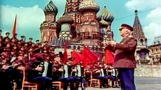"""Soldiers On the Road!"" (or ""Forward, on the Way!"") - The Alexandrov Red Army Choir (1965)"