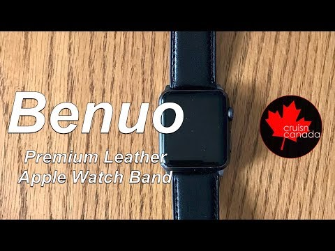 Benuo Premium Leather Apple Watch Band - First Look