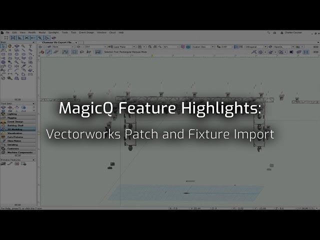 MagicQ Vectorworks Import