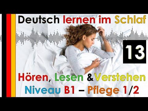 , title : 'Deutsch lernen im Schlaf & Hören  Lesen und Verstehen Niveau B1 - Pflege 1/2