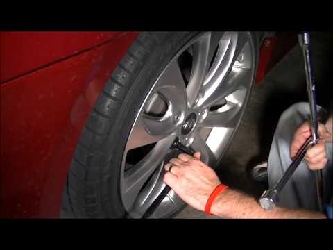 Tire/Wheel Change/Removal Procedure Hyundai Sonata 2.0 Turbo