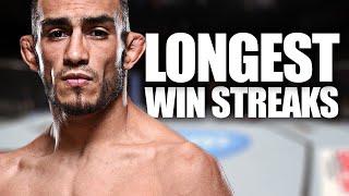 10 Longest Winning Streaks in the UFC