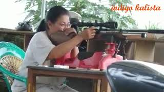 Belajar nembak - learning shooting pcp Weihrauch HW1 100 KT - V#041