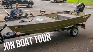 JON BOAT TOUR || Everything You Need To Know About My Jon Boat