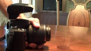 Nikon SB 400 Speedlight Demo