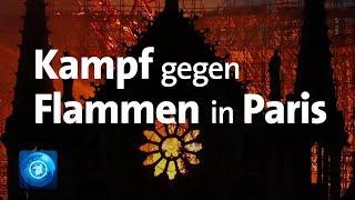 Paris: Kathedrale Notre-Dame In Flammen