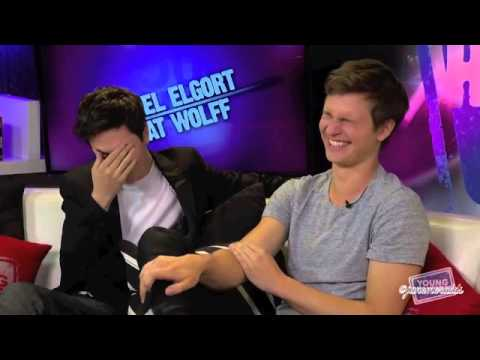 Ansel Elgort's Funny and Cute Moments