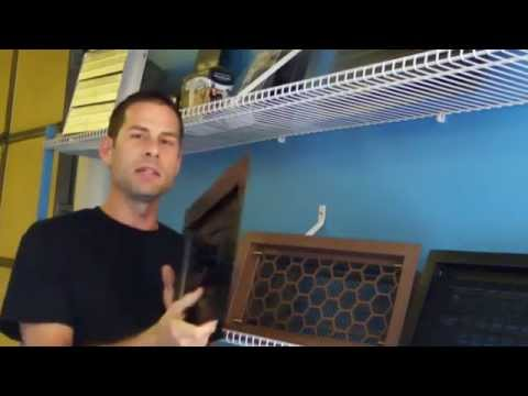 Recessed Vent Cover (Shallow) – Information