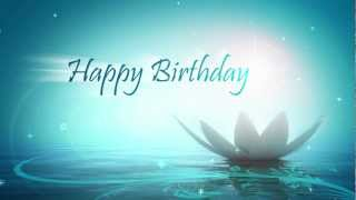 YouTube e-card Happy Birthday Motion Greetings Website  Animation with 3ds Max and Adobe After
