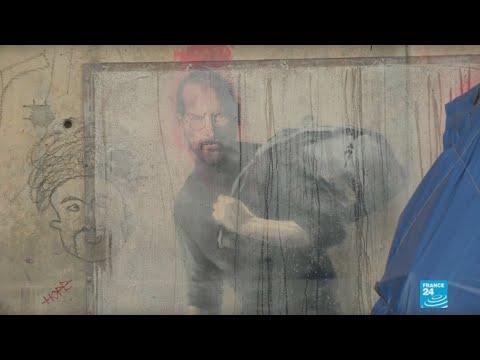 العرب اليوم - شاهد: أعمال الفنان البريطاني المجهول بانكسي