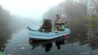 Ловля щуки на плещеевом озере с берега осенью