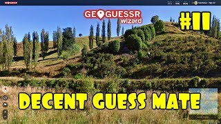 Geoguessr   No Moving, Scrolling Or Zooming #11   That's Another Decent Guess Mate.